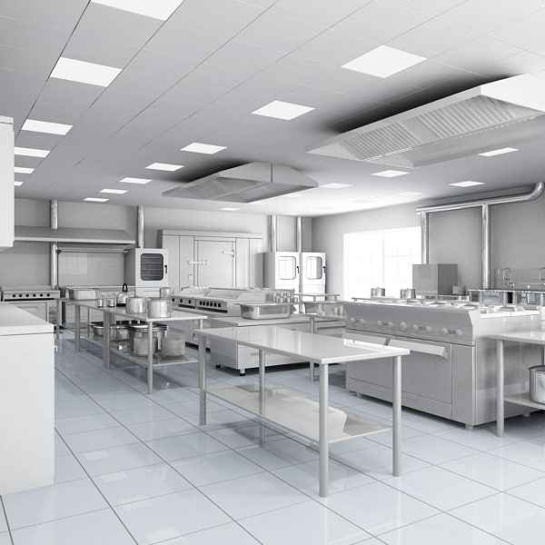 Design A Commercial Kitchen: Industrial & Commercial Kitchen Design
