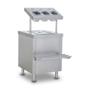 Cutlery Unit with Tray Slider