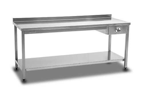 Work Table Single Drawer